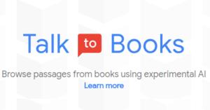Google - Talk to Books