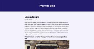 Typewire