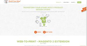 Magento 2 Product Design Tool