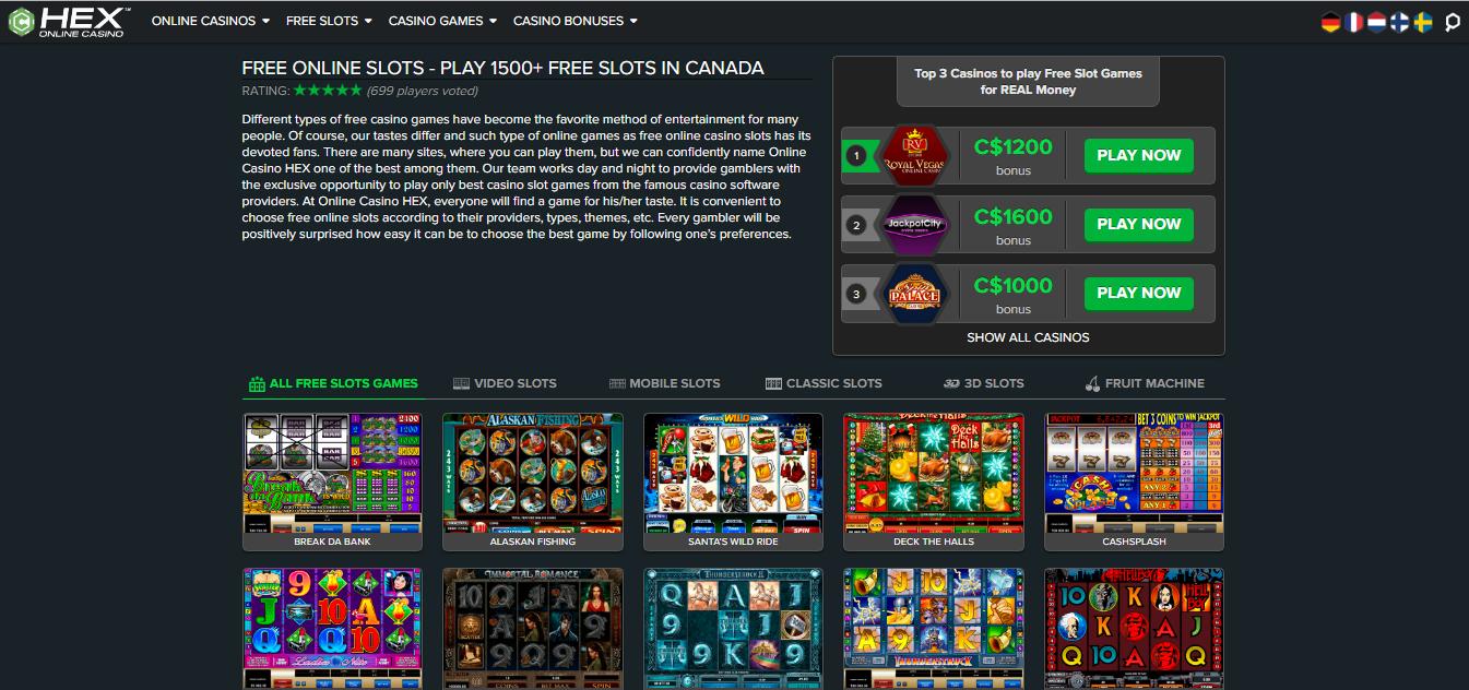 Hex Online Casino