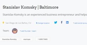 Stanislav Komsky | Baltimore